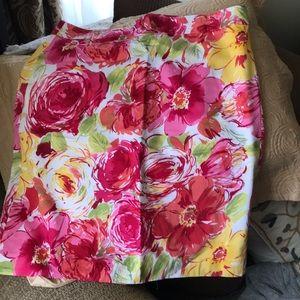Van Hueusen cotton skirt